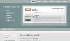 examsuite site